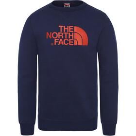 The North Face Drew Peak Crew Bluzka z długim rękawem Mężczyźni, montague blue